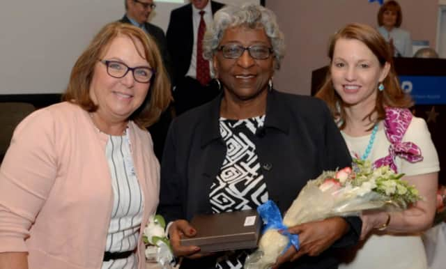 Sheran Lyons of White Plains was Honored during National Hospital Week Celebration.