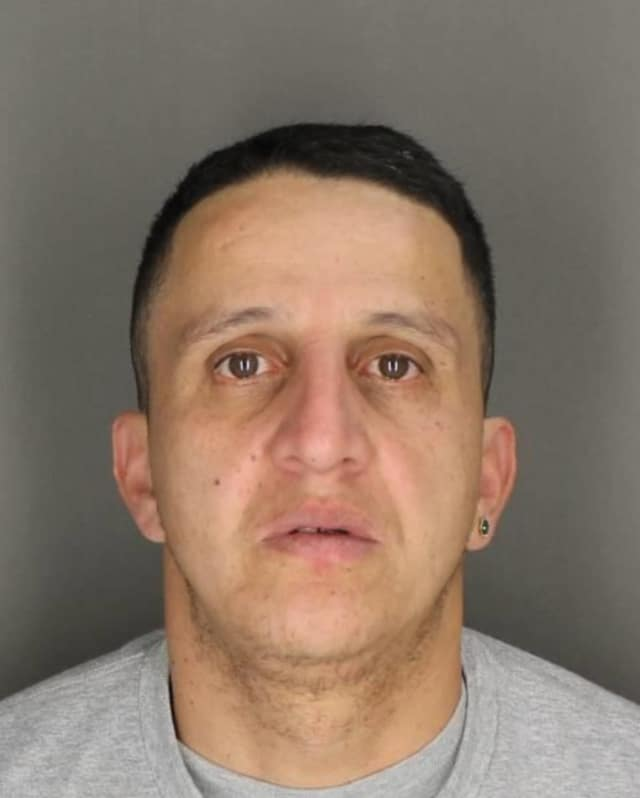 Raymond Velez, 42, has been arrested for burglarizing a Bronxville home in March.