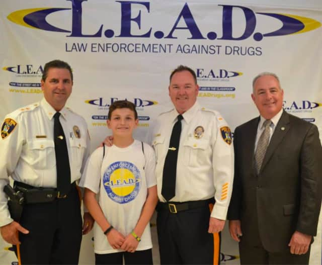 Saddle Brook sixth graders graduated from the L.E.A.D. program