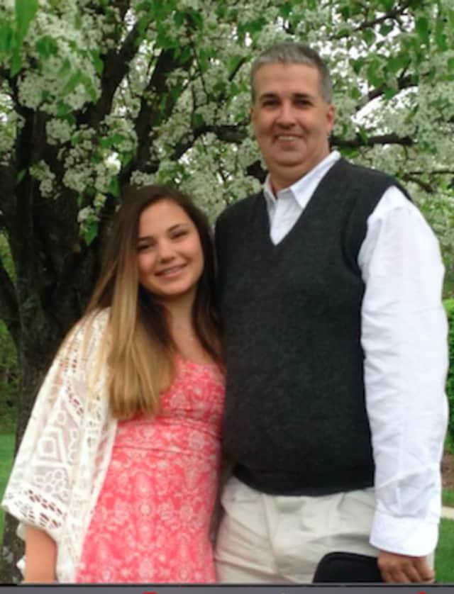 Michael Murray with his niece Lauren Malatesta.