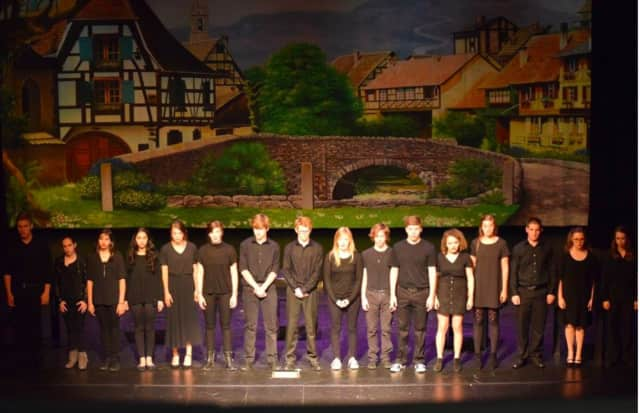 """A performance by students at Stratford Academy. Celebrating its 34th theater production, Stratford Academy will present """"The Music Man, Jr."""""""