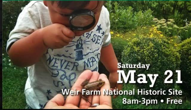 Weir Farm National Historic Site is hosting the National Parks BioBlitz on May 21 in Wilton.