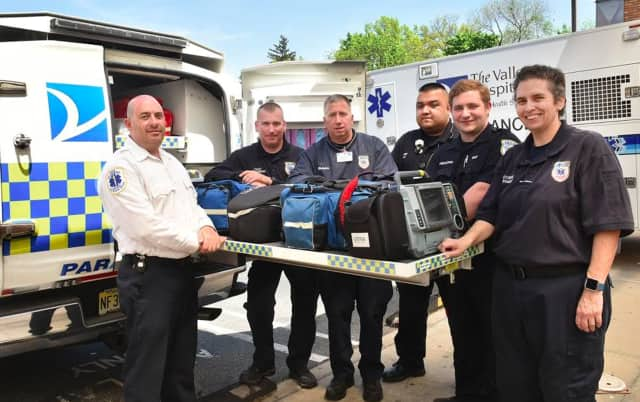 The Valley Hospital Emergency Services has been recognized with the American Heart Association's Mission: Lifeline® EMS Silver Award for implementing quality improvement measures for the treatment of patients who experience severe heart attacks.