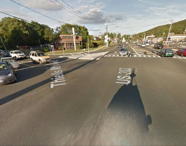 Route 202 and Thiells Mount Ivy Road in Haverstraw.