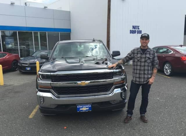 Keith McKee of West Kill with his new Chevy Colorado.