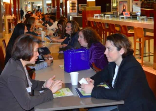An earlier networking event was held at the Garden State Plaza.