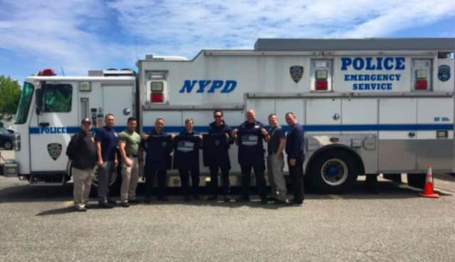 Local officers recently trained in Brooklyn with New York first responders.