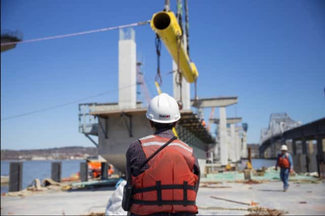 Additional lane closures will begin tonight as work continues on the new Tappan Zee Bridge.