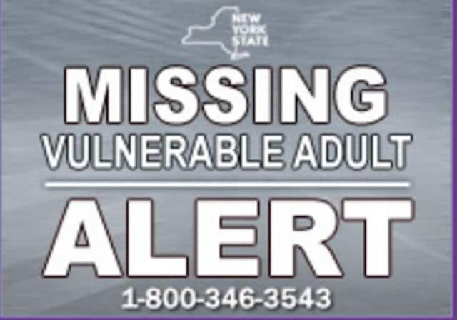 Missing Vulnerable Adult Alert
