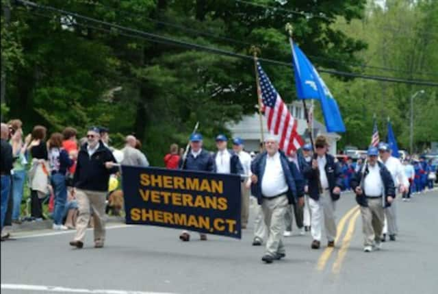 A photo of the 2005 Memorial Day parade in Sherman. This year's parade will be held on Sunday, May 29 at 1 p.m.