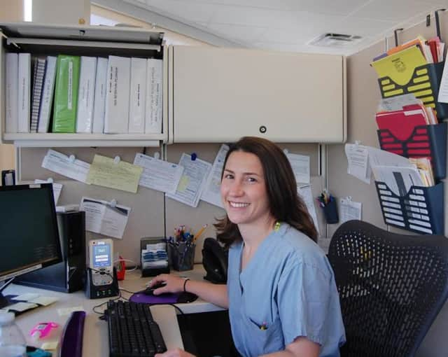 Andrea LaCourciere, RN, Surgical Services Educator at White Plains Hospital.