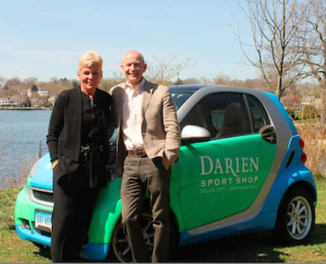 The Darien YMCA will have the Darien Sport Shop as the lead sponsor of the second annual Y Games: Team Charity Challenge. From left, Gina Zangrillo, President of the Darien Sport Shop and Pat Morrissey, Executive Director of the Darien YMCA.
