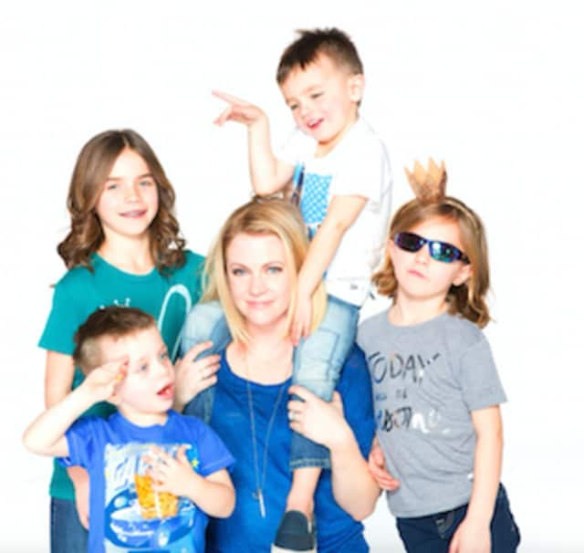 Melissa Joan Hart will host a trunk show for her childrens' clothing line in Westport on Thursday at Kidville.
