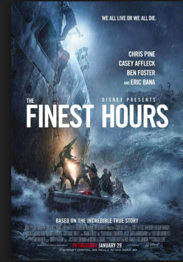 "Brookfield Library is hosting a free movie matinee of ""The Finest Hours"" on May 28 at 2 p.m."