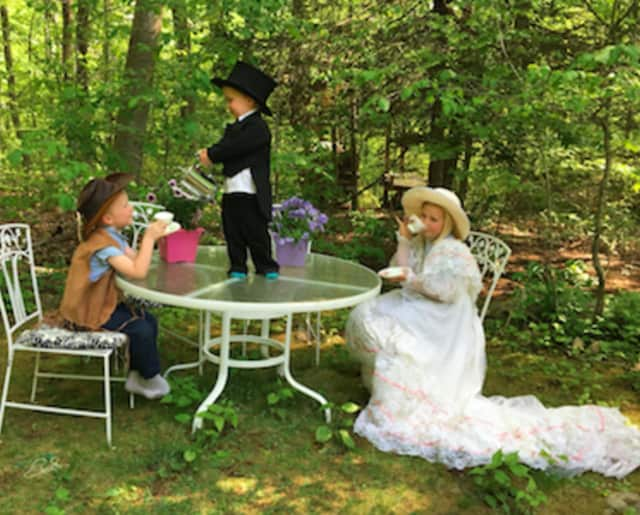 Come to a Mad Hatter Tea Party in Wilton to celebrate the end of the school year.