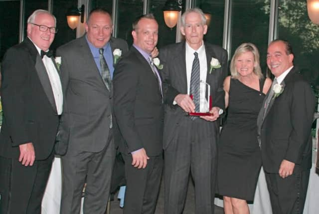 From left, William Bassett, Joseph Roccuzzo, Kevin Ullrich, Robert Melly, Caroline Molloy and Anthony Lifrieri.