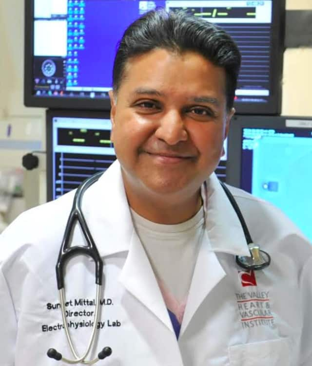 Dr. Suneet Mittal, of Valley Health System.