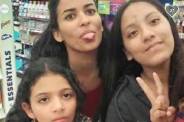 Angelina Rodriguez, Jesenia Valentin and Asyria Ferrer.