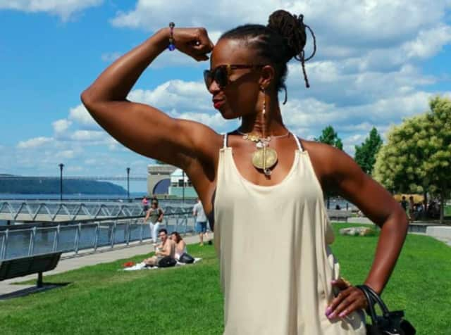 Lateefah Fleming of empowerFIT in Hackensack and Teaneck.
