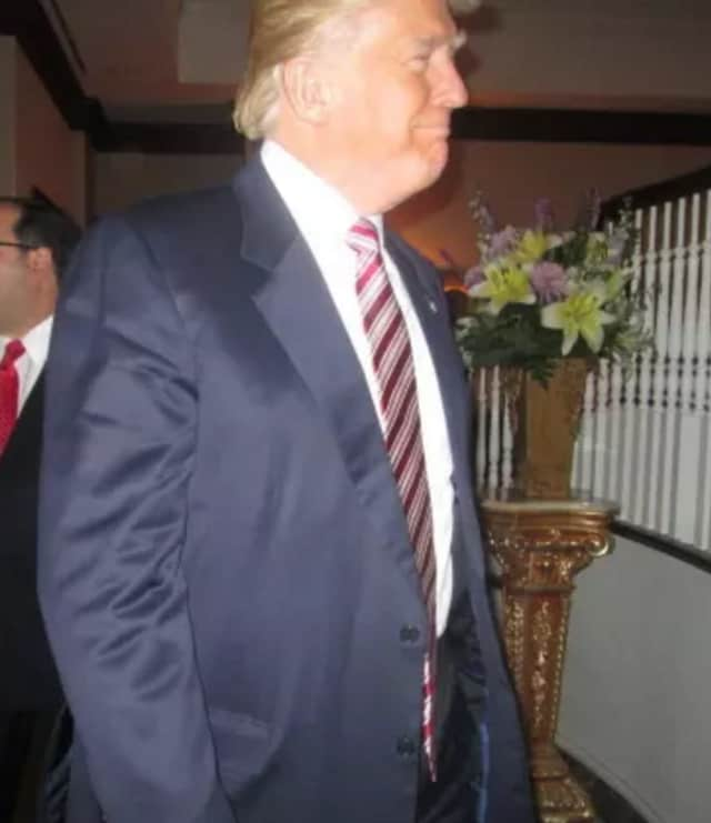 Donald Trump at Trump National in Briarcliff Manor earlier this year.