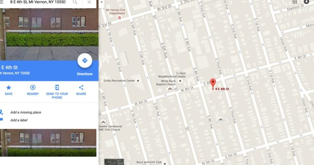 A man reportedly was stabbed multiple times Tuesday night in the area of East 4th Street in Mount Vernon.