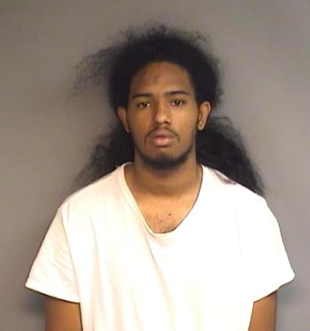 Shacquine Narine, pictured, and a 17-year-old male, both of Stamford, are facing charges in a shooting on May 30.