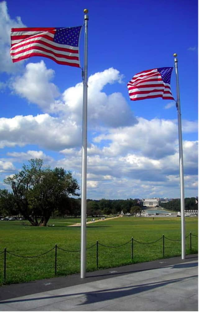 The Monuments and Ceremonies Commission will hold its annual Flag Day Observance at the Veterans Memorial Circle at Darien Town Hall at 5 p.m. on Tuesday, June 14.