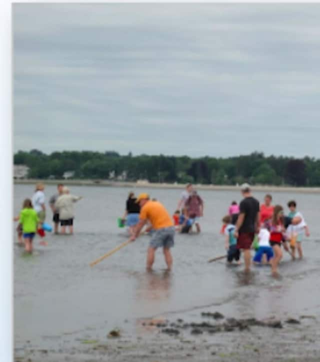 The Town of	Fairfield's Clam Clinic is on Saturday, June 11, from 10 a.m. to noon at Sasco Hill Beach.