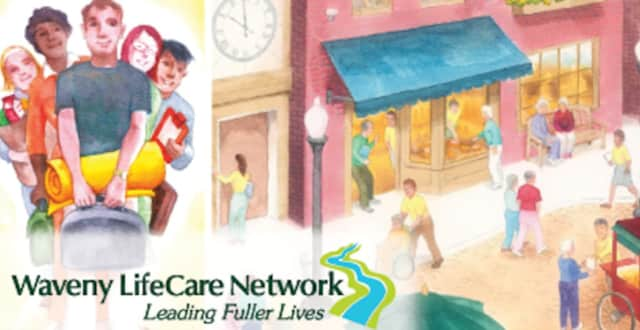 Waveny LifeCare Network thanked New Canaan Rotary for a recent grant.