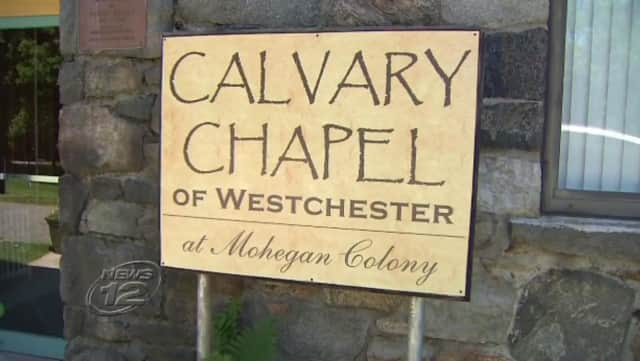 Calvary Chapel Church officials told police that items were stolen from the church Saturday while they hosted a fundraiser.