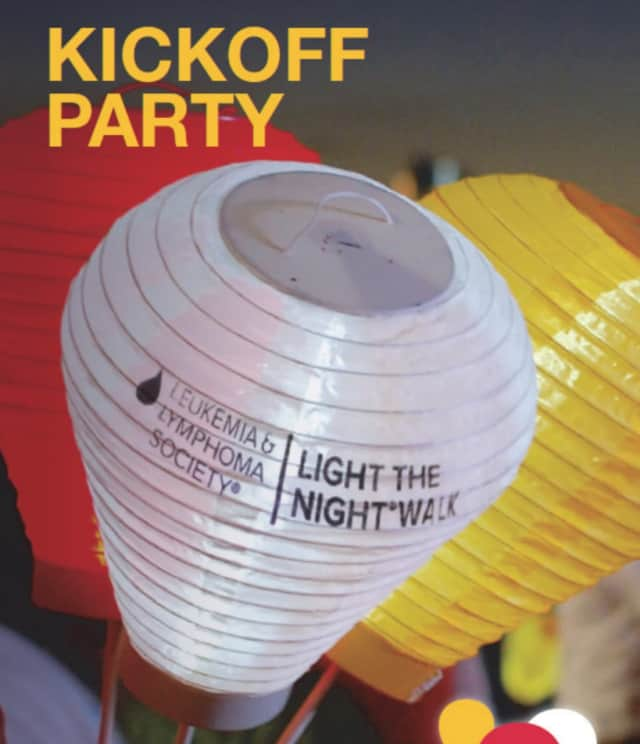 The Leukemia & Lymphoma Society's Light The Night Kickoff Party is set for June 15.