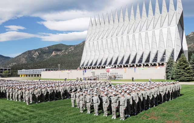 A number of Connecticut students have been accepted to the U.S. Air Force Academy.
