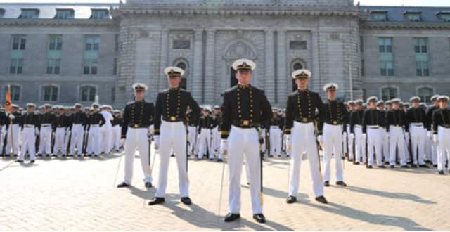 A number of students from Connecticut will attend the U.S. Naval Academy.