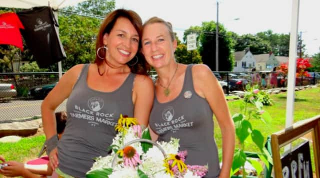 Karyn Leito and Michelle Margo are founders of the Black Rock Farmers Market.