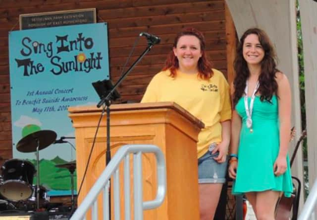 """Faith Banca and Rebecca Cruz are behind the """"Sing into the Sunlight Concert & Festival,"""" an event that spotlights suicide prevention and awareness."""