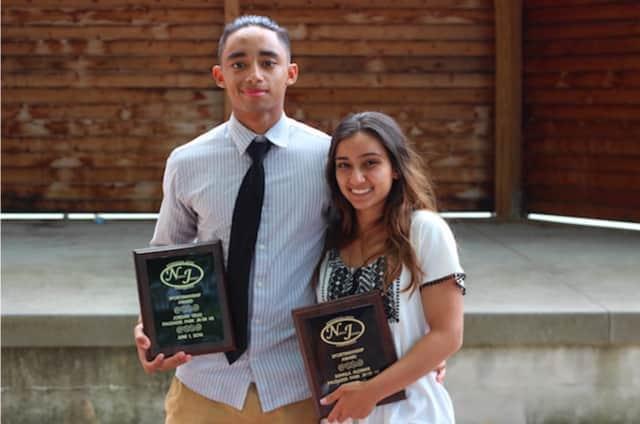 Jordan Velez and Suhaila Alomar