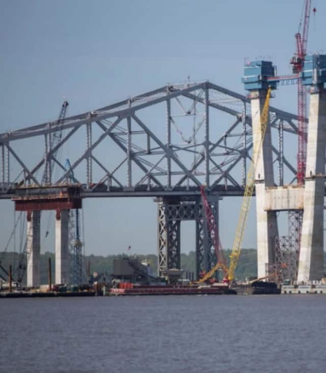 A Ramapo police detective prevented a man from jumping off the Tappan Zee Bridge Friday night.