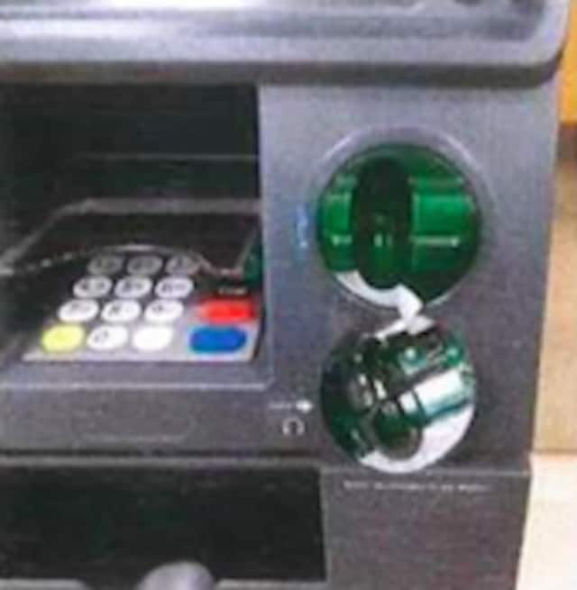 Clarkstown police discovered a skimming device in a Nanuet ATM.