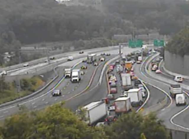I-87 at I-287 on Thursday morning.