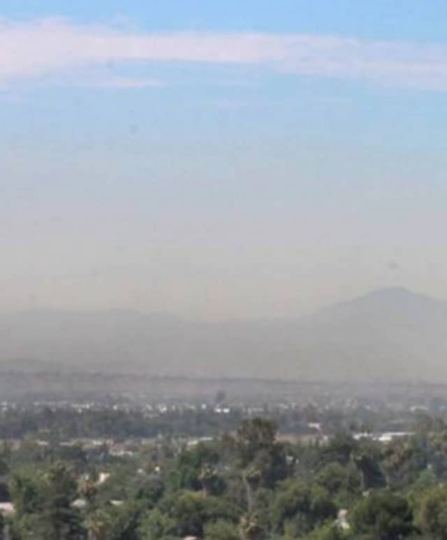 Air quality levels are predicted to be greater than an air quality index value of 100 for the pollutant of ground level ozone.