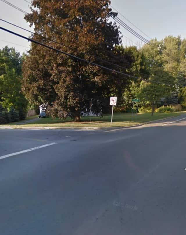 Rapalje Road and Route 52 in Fishkill.