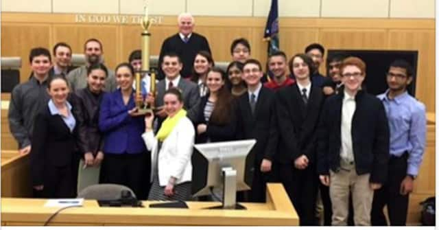 The Clarkstown High School South Mock Trial Team won Rockland and Westchester County 2016 Finals.