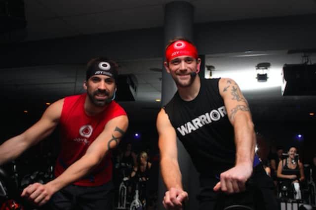 L to R: JoyRide instructors Adam Keller and Jared Marinelli