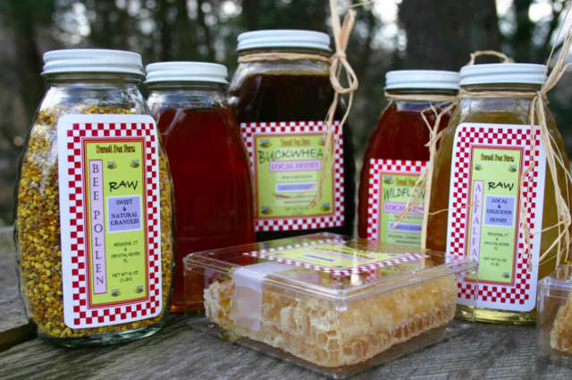 Sweet Pea Farms in Redding offers an assortment of locally sourced beeswax products for the home and kitchen.