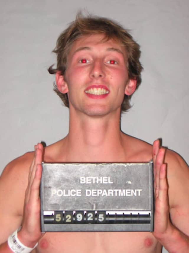 Paul Denis, 23, of 122 Fire Hill Road, Ridgefield, is facing charges by Bethel Police after a bizarre low-speed pursuit through Bethel.