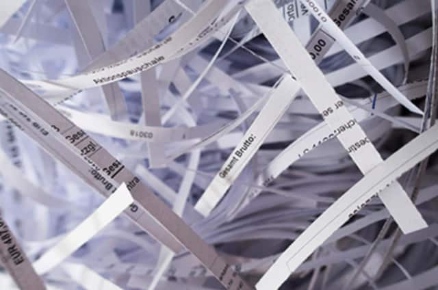 Shred your documents at Borough Hall on July 16.