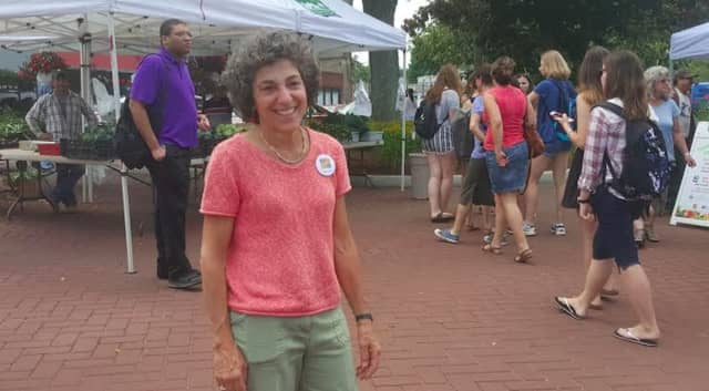 Redding resident Peggy Zamore is making it her mission to recruit volunteers to stay overnight at the overflow shelter in Danbury.