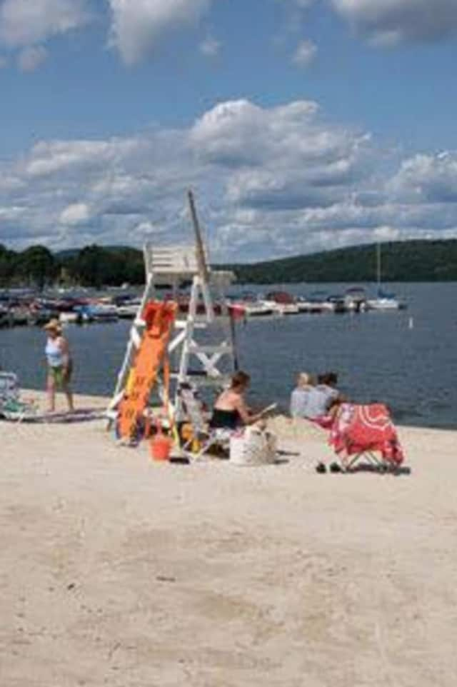 New Fairfield Town Beach on Candlewood Lake