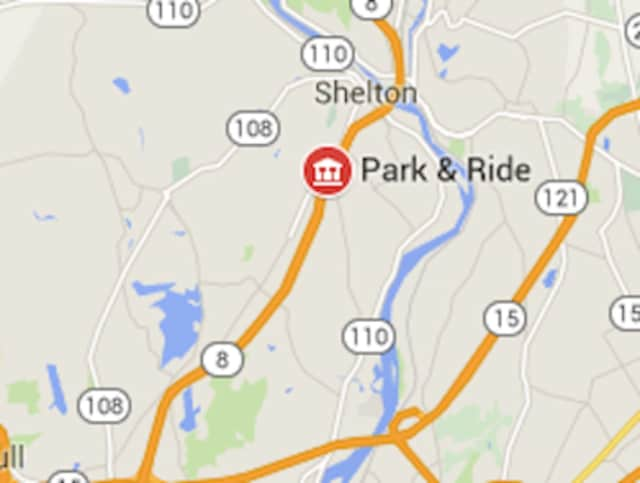 A Shelton man was killed on Route 8 when he tried to squeeze his motorcycle between two vehicles.