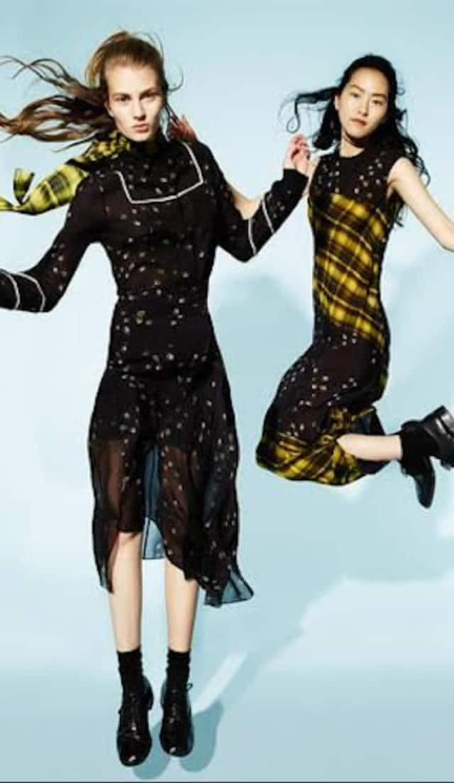 Preen by Thorton Bregazzi is one of this fall's hottest designers.